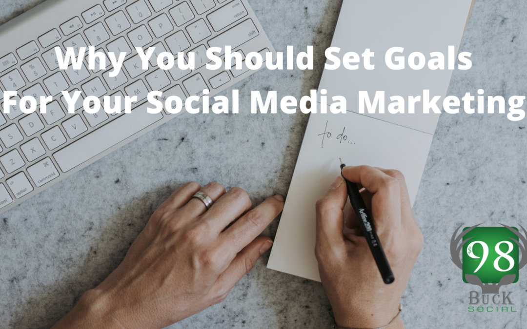 Why You Should Set Goals for Your Social Media Marketing